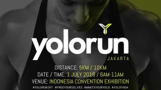 YOLO Run Jakarta 2018