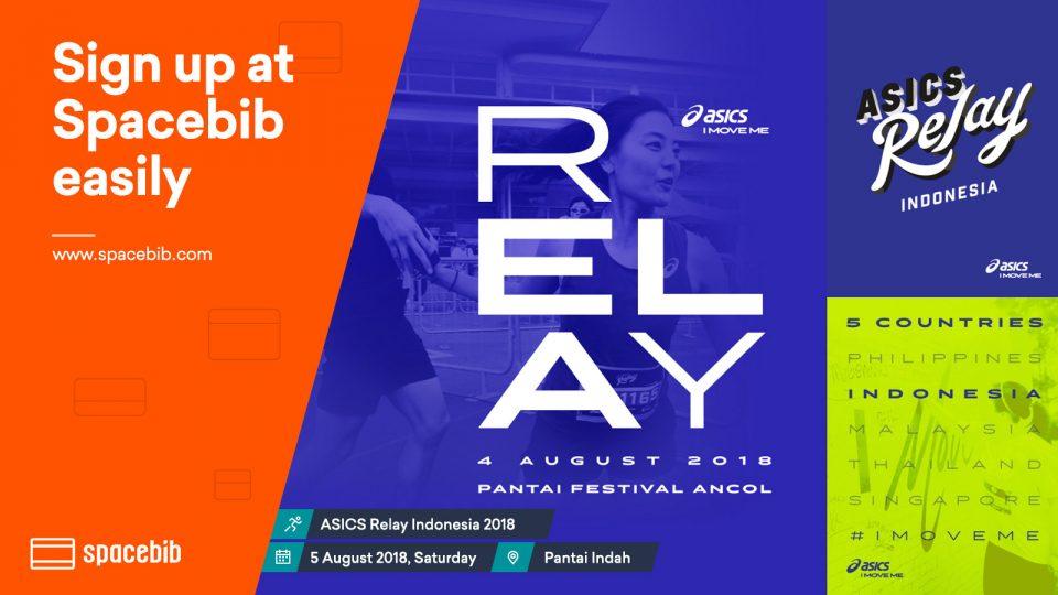 ASICS Relay Indonesia 2018