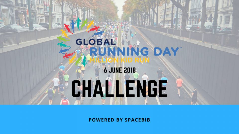 Time To Get Yourself Moving At Global Running Day Challenge on 6 June!