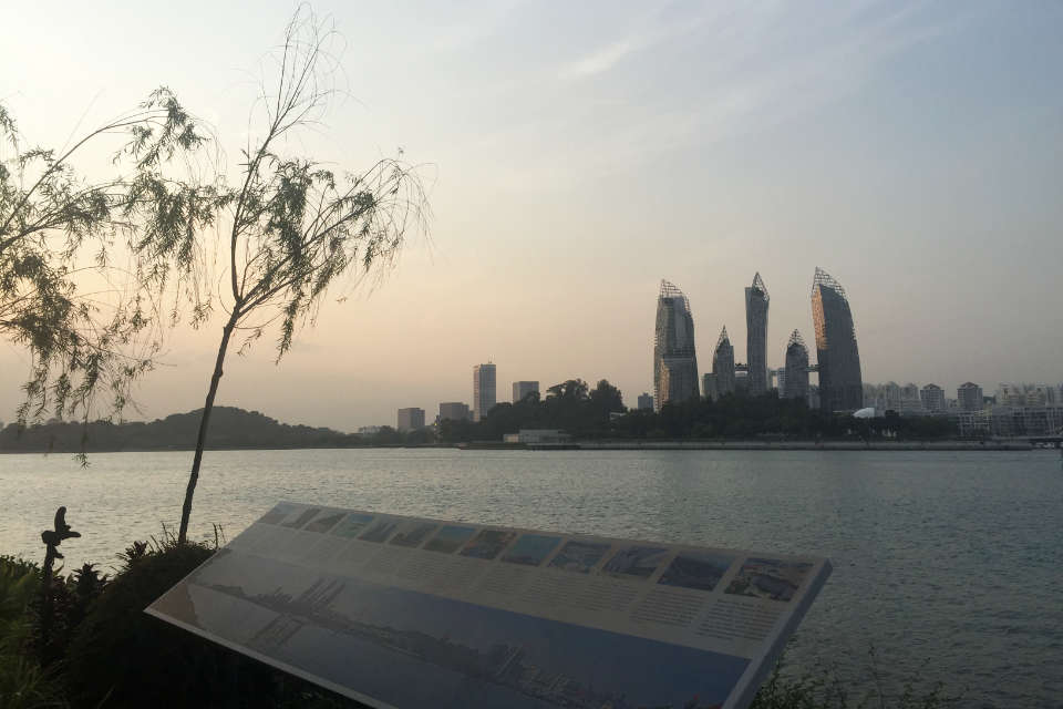 Singapore's Running Utopia in Sentosa