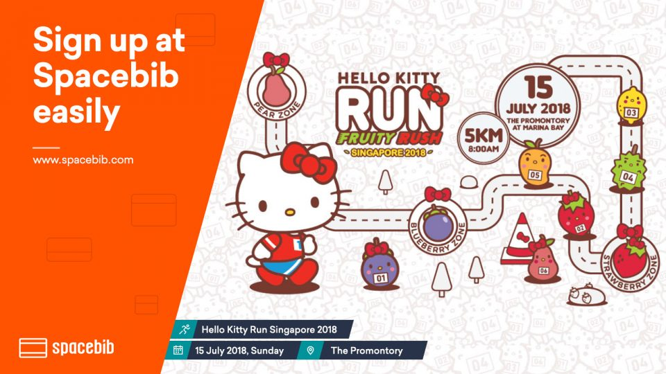 Hello Kitty Run Singapore 2018