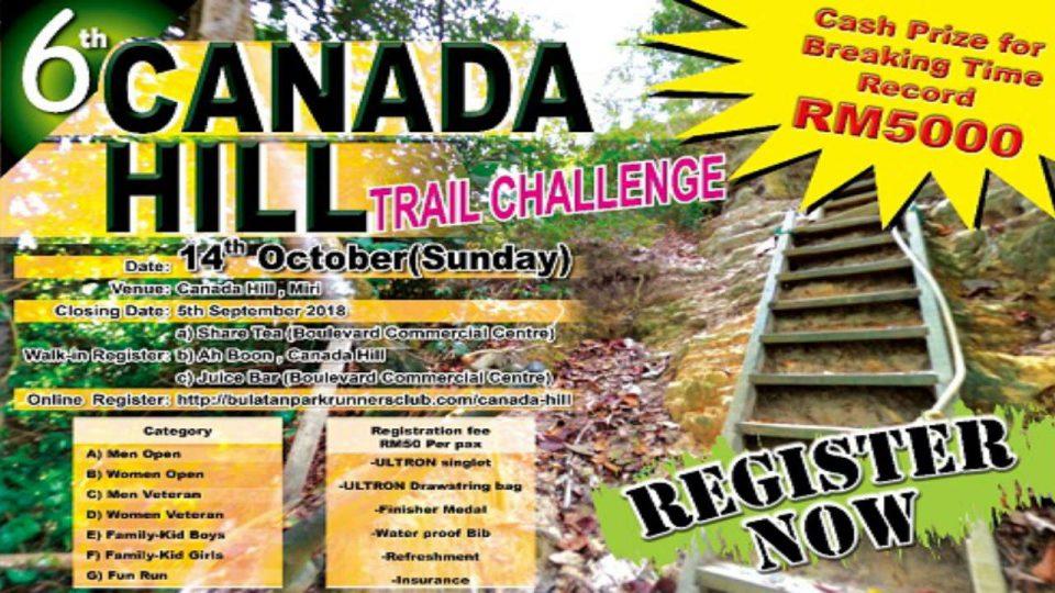 6th Canada Hill Trail Challenge