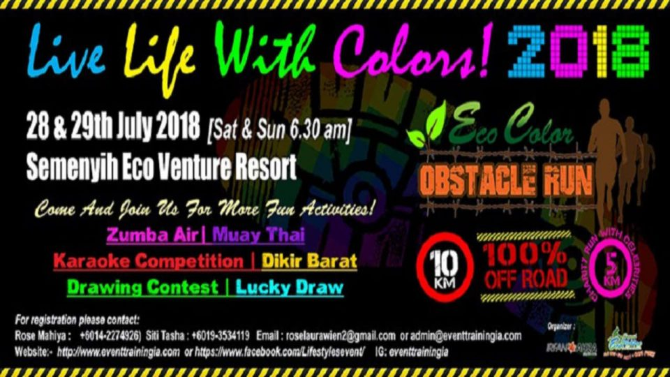 Eco Color Obstacle Run 2018