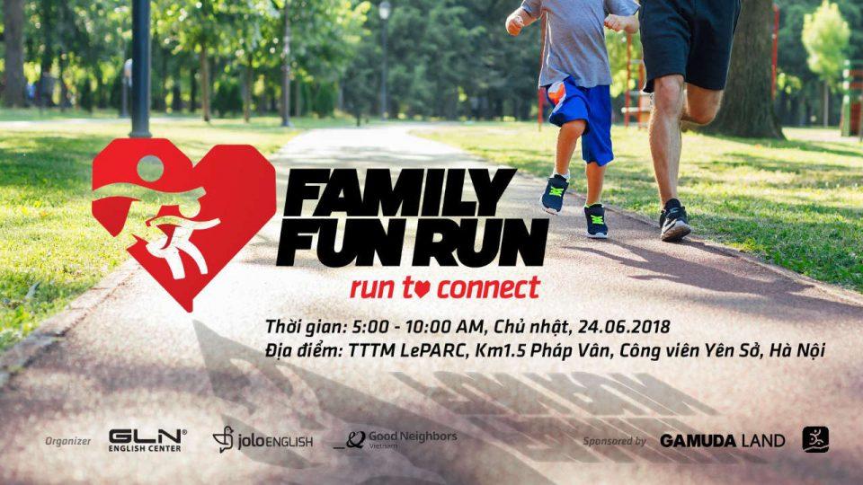 Family Fun Run 2018 - Run to Connect