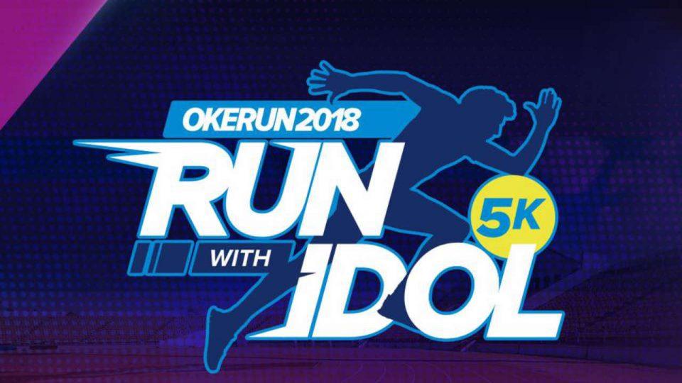 Okerun Run With Idols 2018