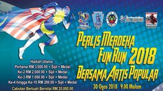 Perlis Merdeka Fun Run 2018