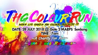 THG Colour Run 2018