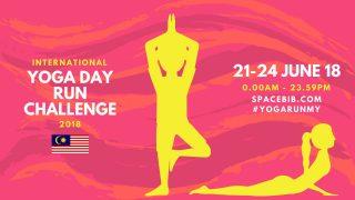 International Yoga Day Run Malaysia Challenge 2018