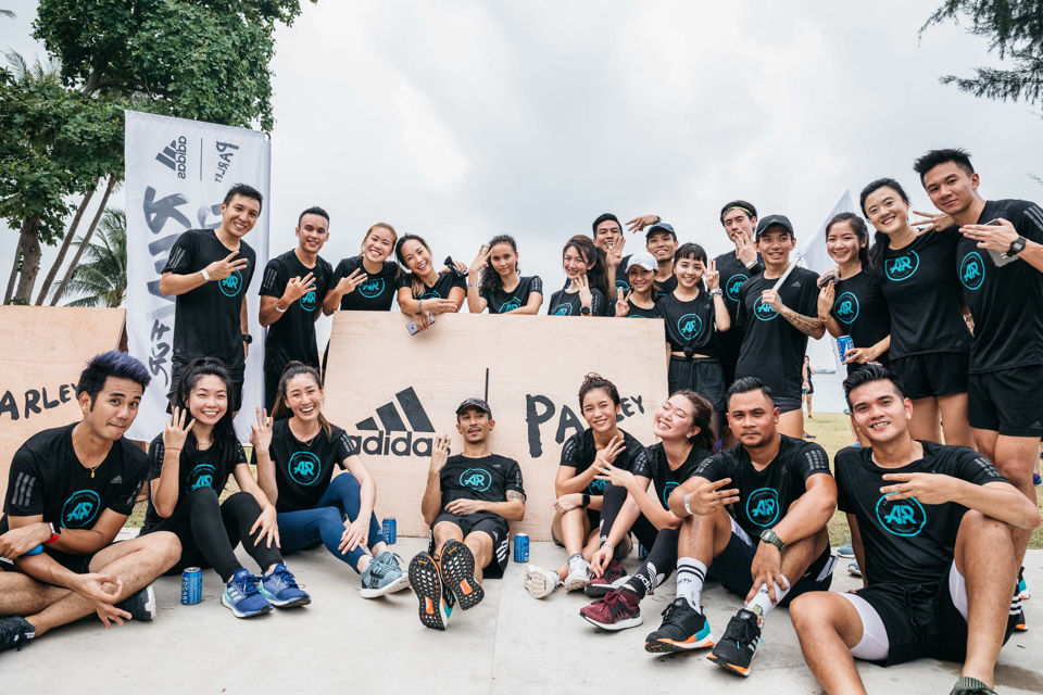 adidas Welcomes Everyone to Run For The Oceans