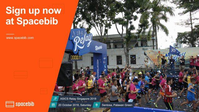 ASICS Relay Singapore 2018