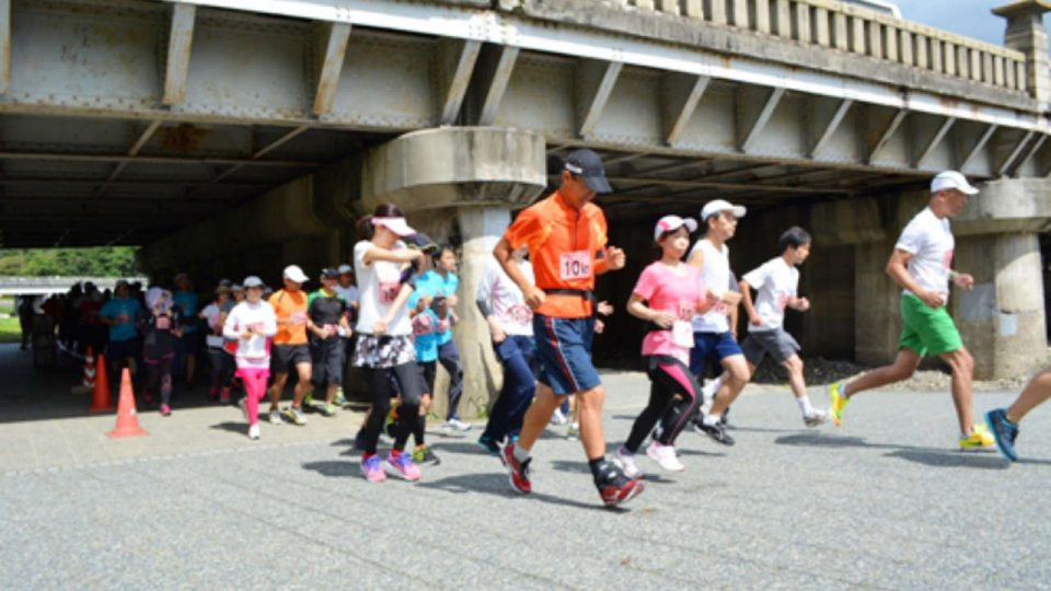 8th NICCO Charity Run @ Kamo River, Kyoto 2018