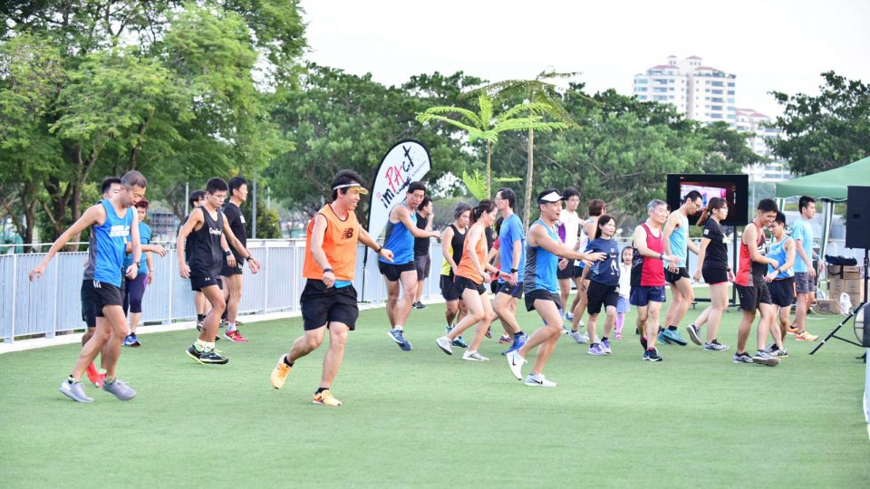 An Island-wide Fitness Workout Brings Individuals With Similar Thinking Together