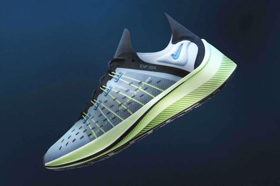 Nike Has Released Their Metallic Sheen Sportswear Range And The EXP-X14 Sneaker