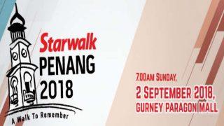 Penang Starwalk 2018