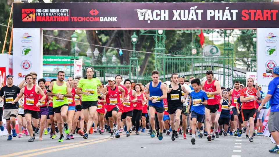 Techcombank Ho Chi Minh City International Marathon 2018