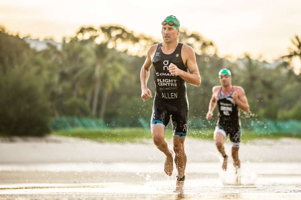 The first duathlon under the International Extreme Sports Event XTERRA series