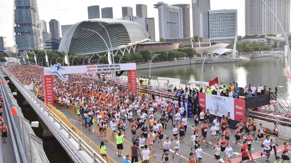 SAFRA Singapore Bay Run & Army Half Marathon 2018 Race Results