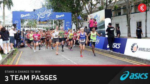 Win a Team Pass Asics Relay Singapore 2018