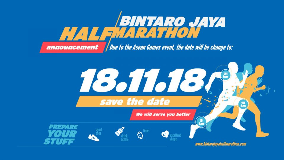 Bintaro Jaya Half Marathon 2018