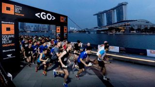 Bloomberg Square Mile Relay Singapore 2018