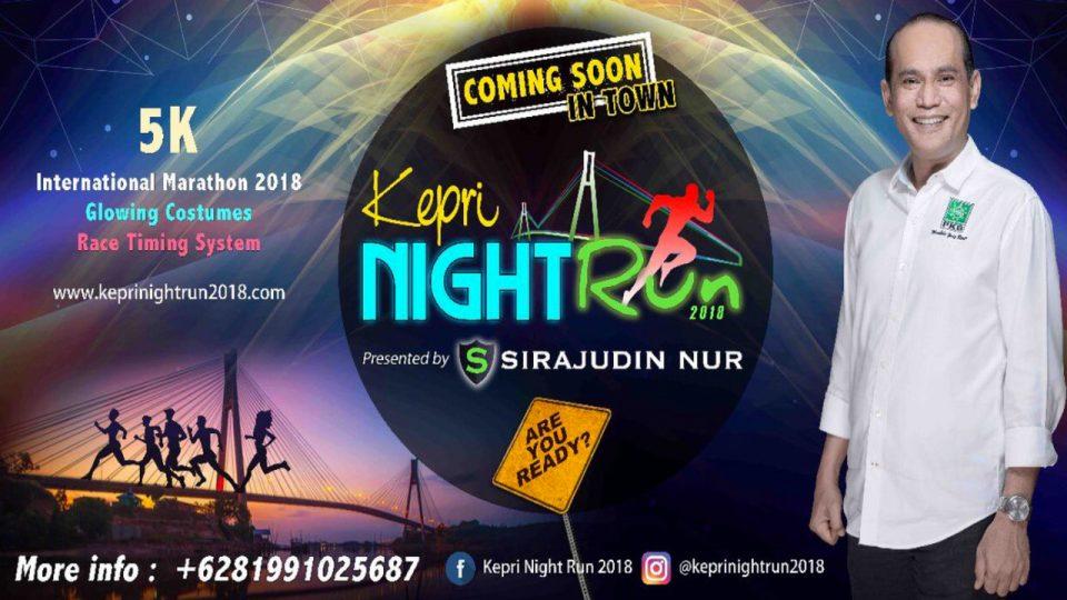 Kepri Night Run 2018
