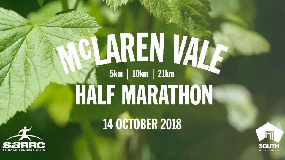 McLaren Vale Half Marathon 2018