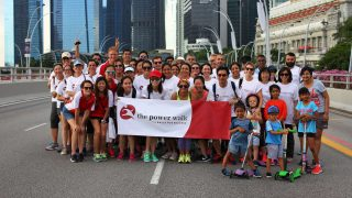 The Power Walk for Dress for Success Singapore 2018