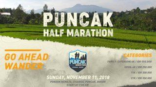 Puncak Half Marathon 2018