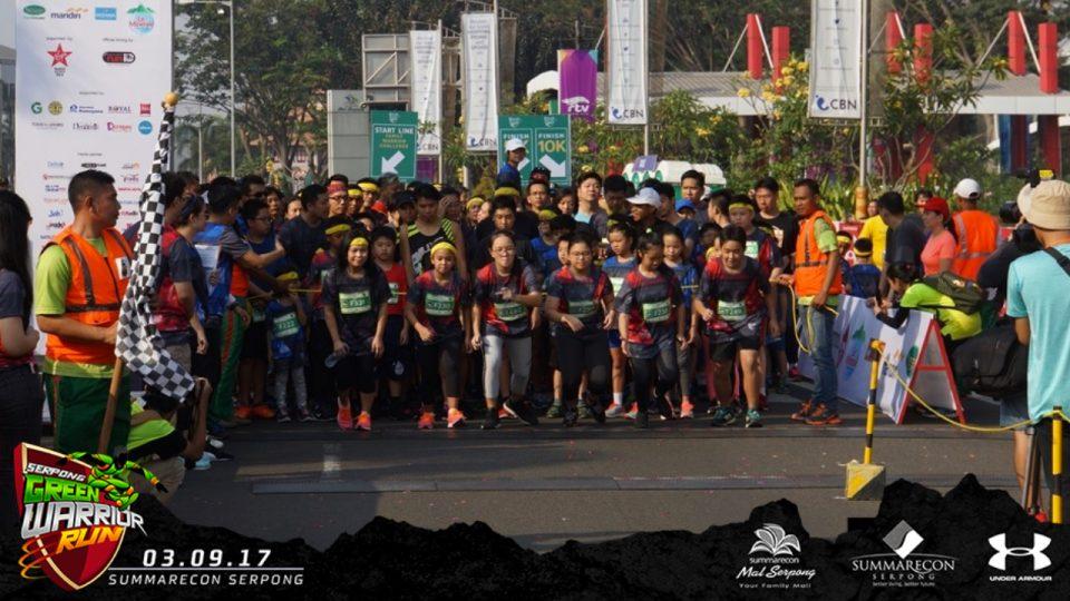 Serpong Green Warrior Run 2018