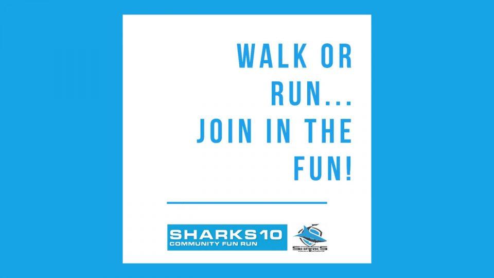 Sharks 10 Community Fun Run 2018