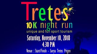 Tretes 10K Night Run 2018