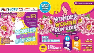 Wonder Woman Run 2018