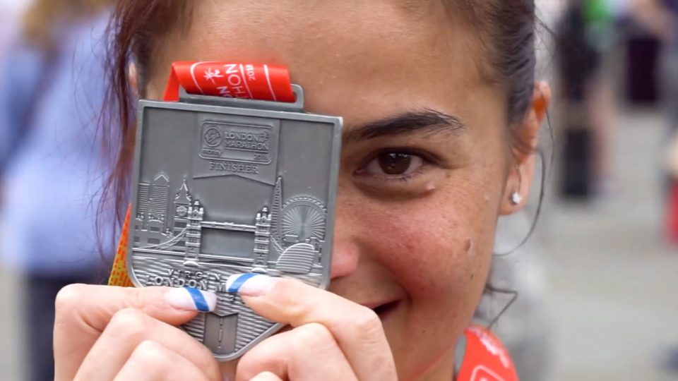 Be super proud when you can complete a marathon because this celebrity almost gave up!