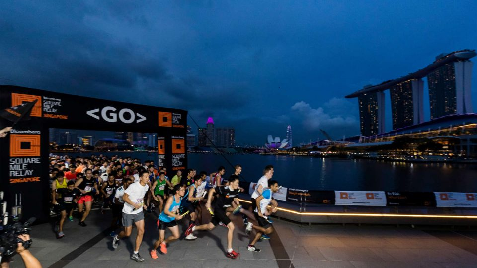 Bloomberg Square Mile Relay Singapore