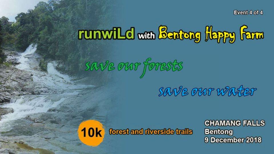 RunWild at Chamang Falls 2018