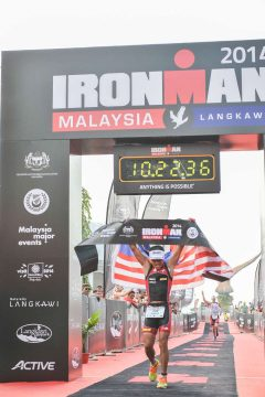 The Firefighter Takes On the IRONMAN