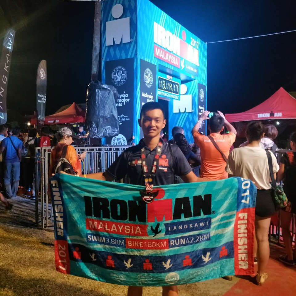 He is the Youngest Malaysian Ever to Qualify for IRONMAN