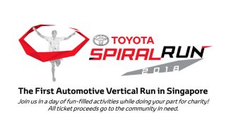 Toyota Spiral Run 2018