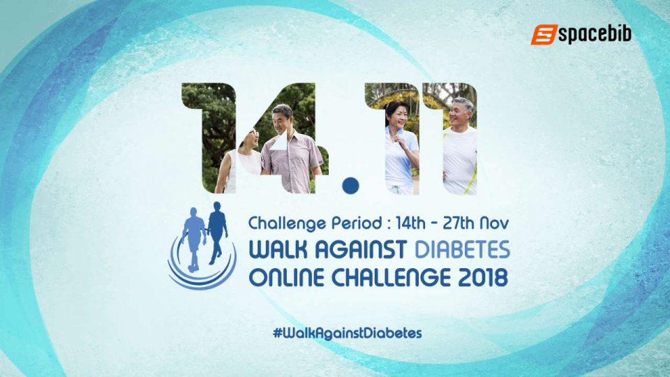 Walk Against Diabetes Online Challenge 2018