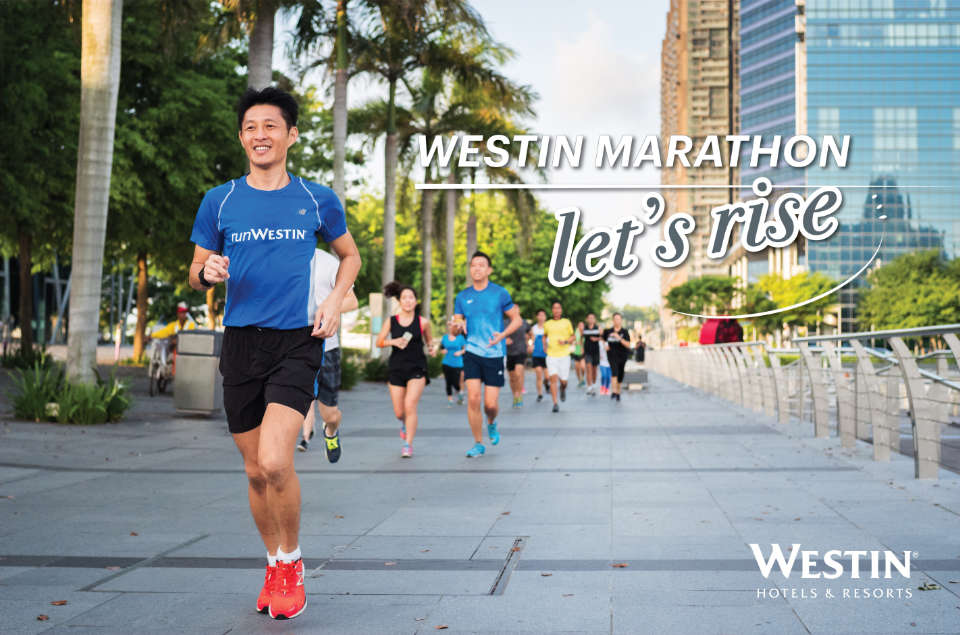 The incredible reason this multinational hotel chain ask you to run a marathon with them.