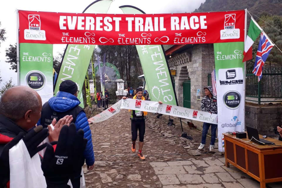 First Win For The Everest Trail Race!