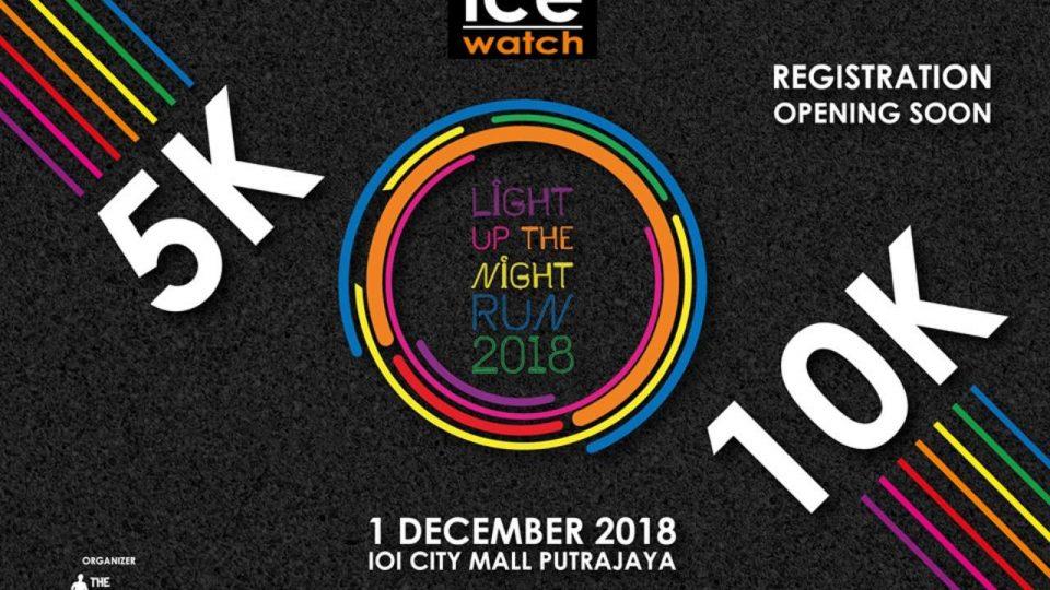 Ice-Watch Light Up The Night Run 2018