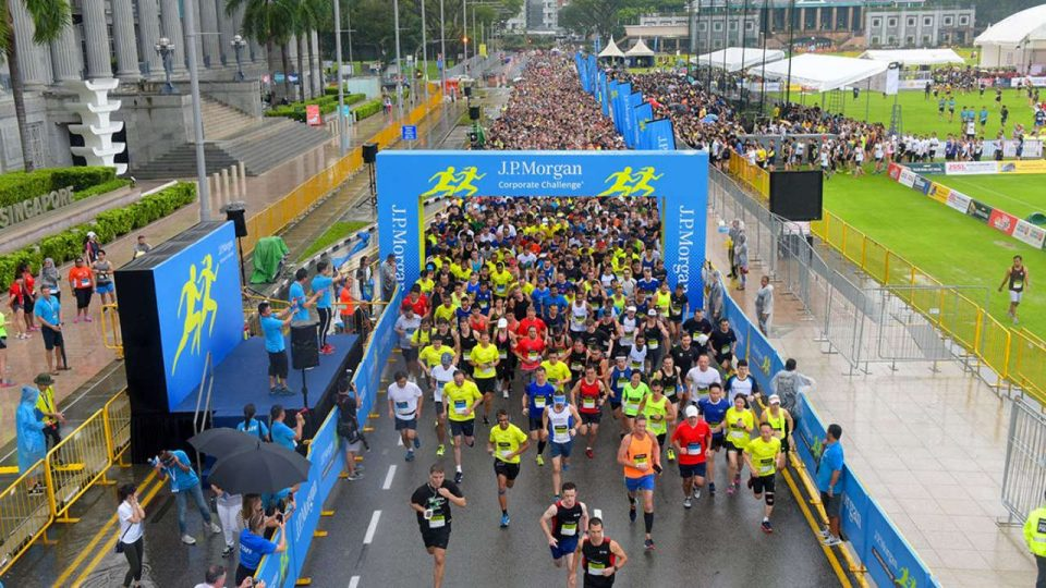 J.P. Morgan Corporate Challenge Singapore