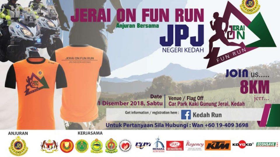 Jerai On Fun Run 2018