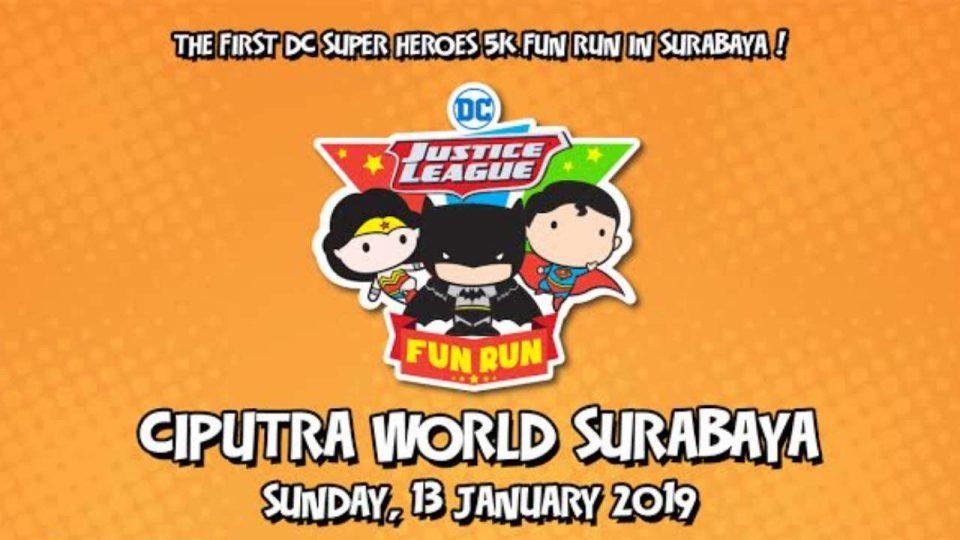 Justice League Fun Run 2019