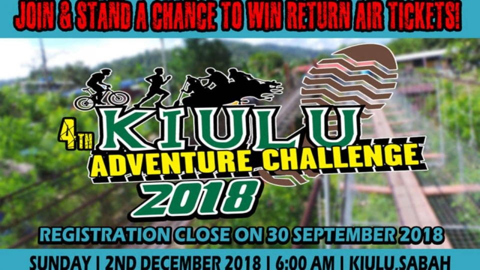 Kiulu Adventure Challenge 2018