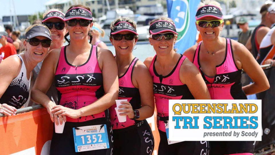 Queensland Triathlon Open Water Swim: Robina