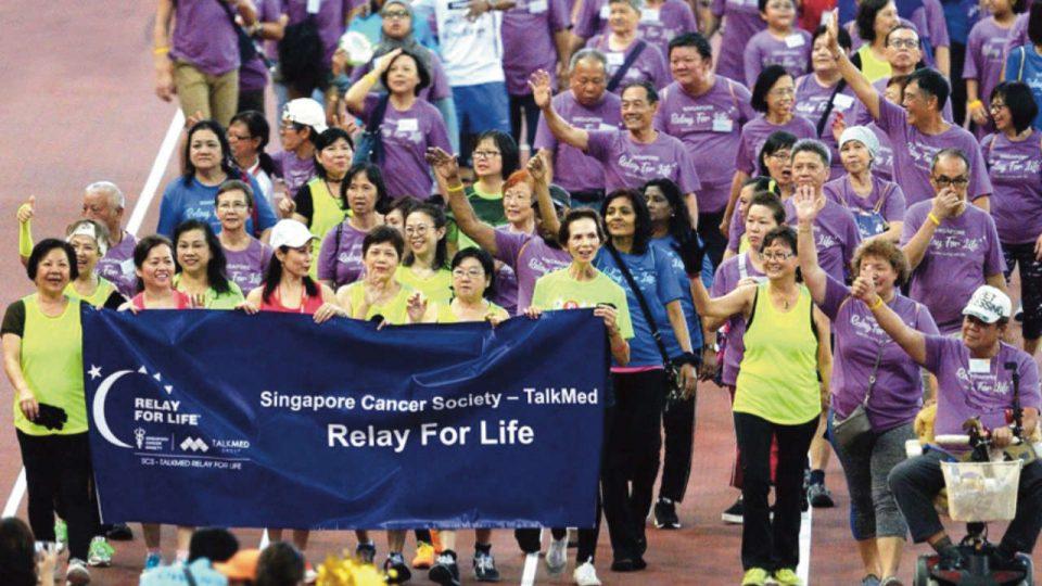 Singapore Cancer Society – TalkMed Relay For Life 2019