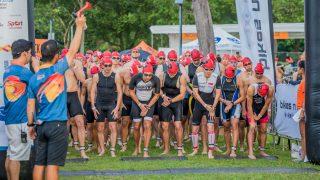 Singapore National Athletes took top spots at Singapore Aquathlon 2018