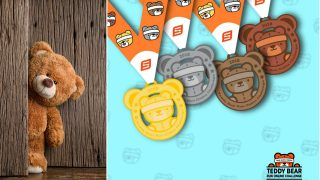 We Can Hardly Bear It: The Teddy Bear Run Online Challenge is Coming!